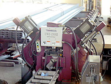 形鋼全自動加工機/UWF-150SII