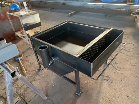 焼き芋窯の製作サムネイル