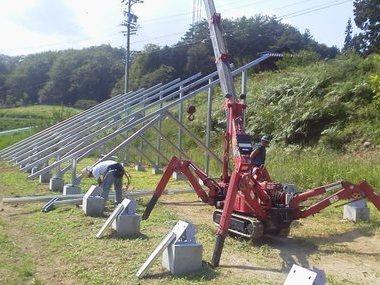 太陽光架台工事サムネイル