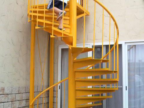 螺旋階段の製作サムネイル